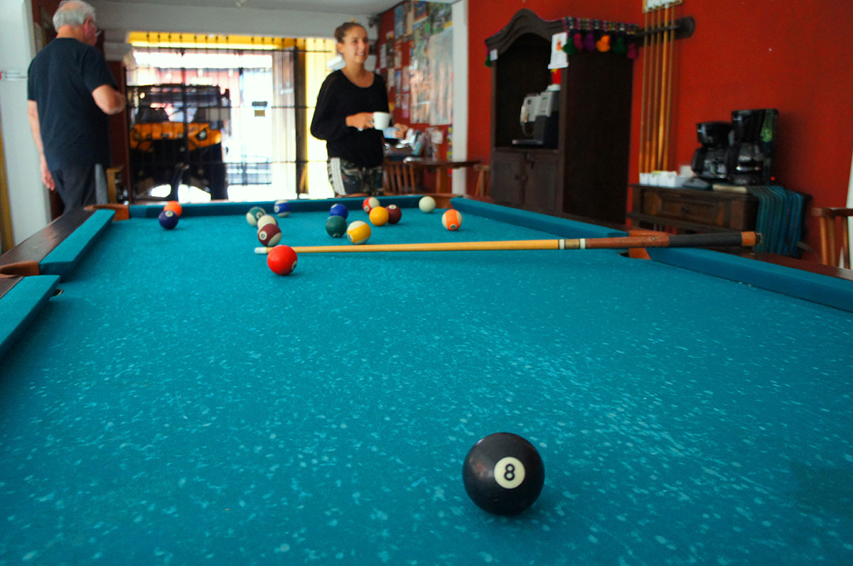 Hotel with Pool Table