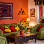 lounge area hotel antigua guatemala